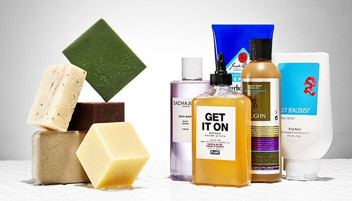 antibacterial body washes and soaps
