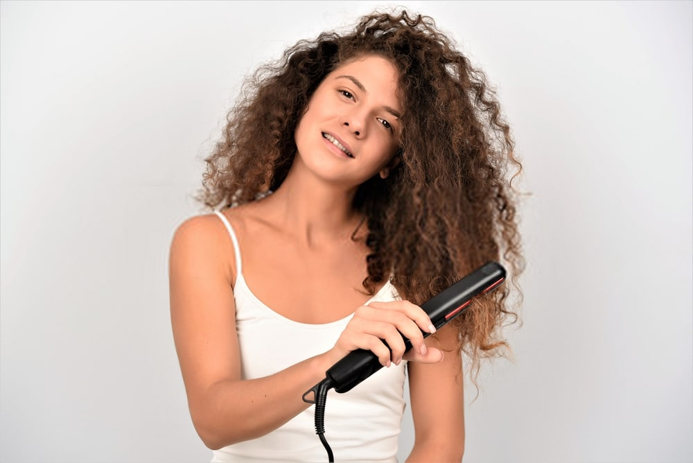 best flat iron for curly hair